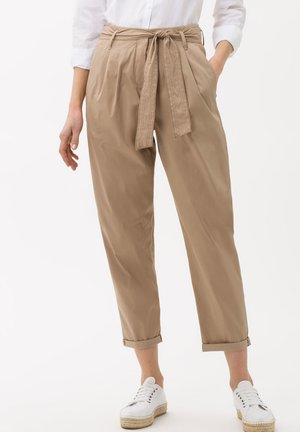 STYLE MILLA S - Trousers - toffee
