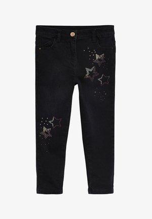 STAR EMBELLISHMENT SKINNY  - Jeans Skinny Fit - black