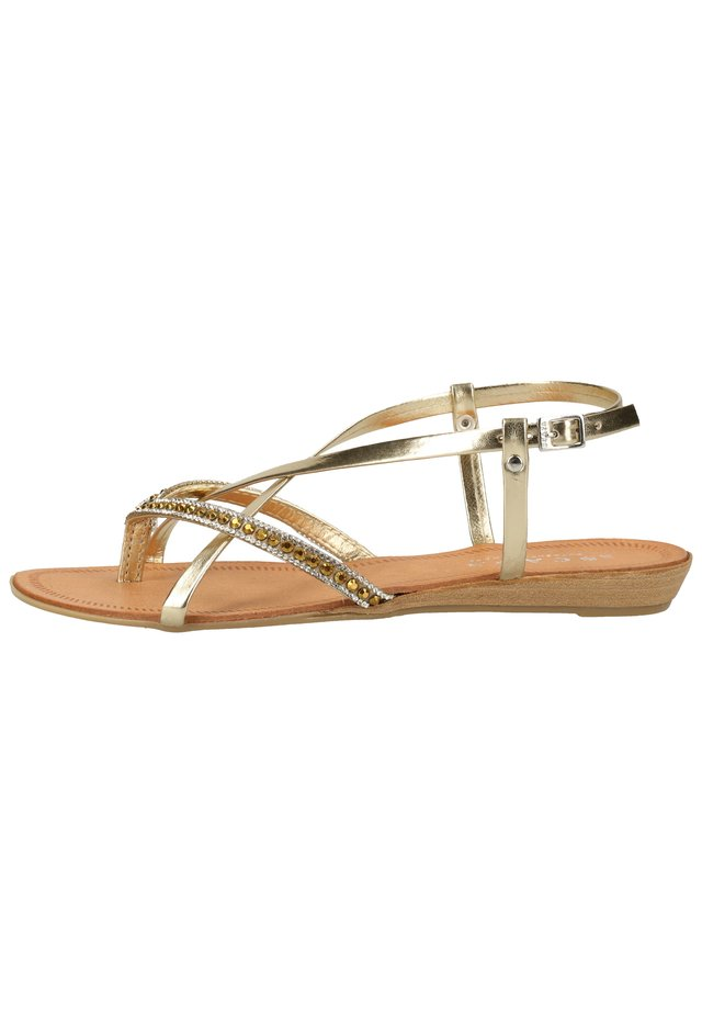 SCAPA ZEHENSTEG - Sandals - yellow