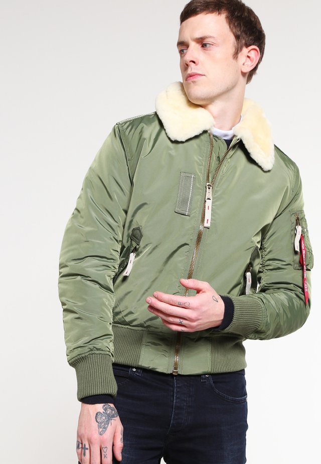 INJECTOR III - Bomber Jacket - sage green