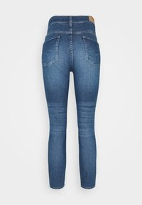 7 for all mankind - ROXANNE ANKLE LUXE VINTAGE PACIFIC GROVE - Jeans Skinny Fit - mid blue - 5