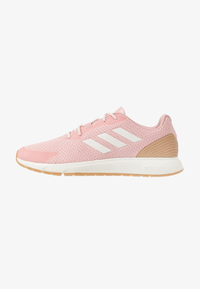 adidas Performance - SOORAJ - Neutral running shoes - pink spice/clear white/tagome