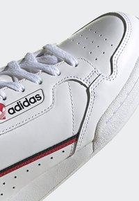 adidas Originals - CONTINENTAL 80 - Trainers - footwear white/core black/scarlet - 8