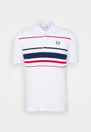 FEIJOA - T-shirt print - blanc de blanc/blue dephts