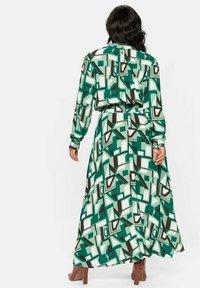 Sheego - Maxi dress - green - 1