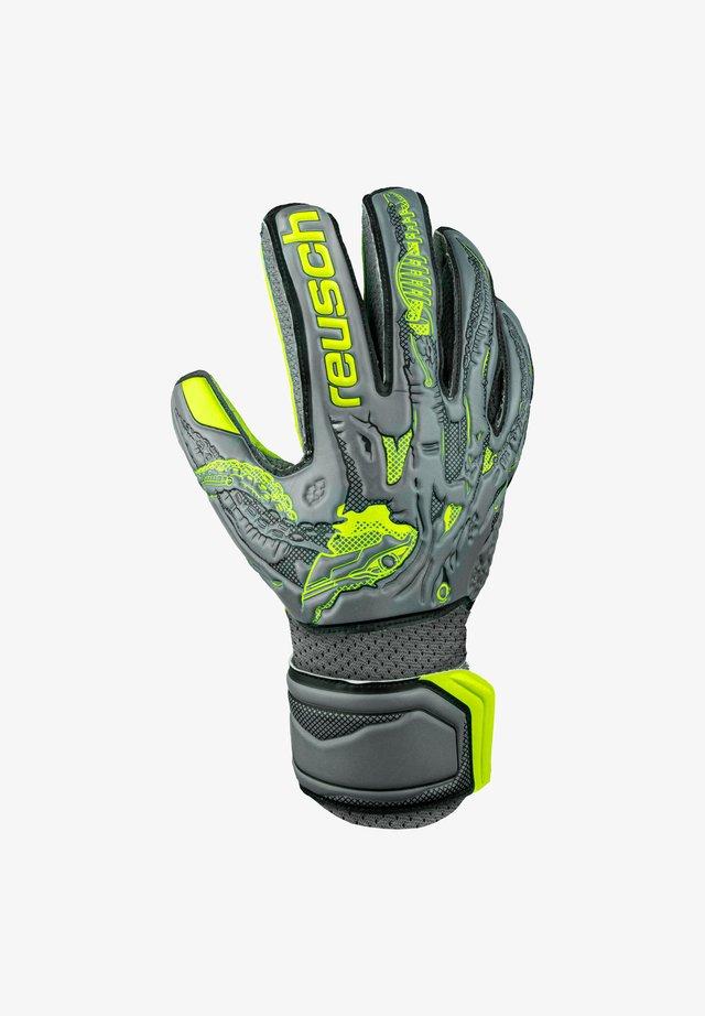 Rękawiczki pięciopalcowe - grauschwarzgelb