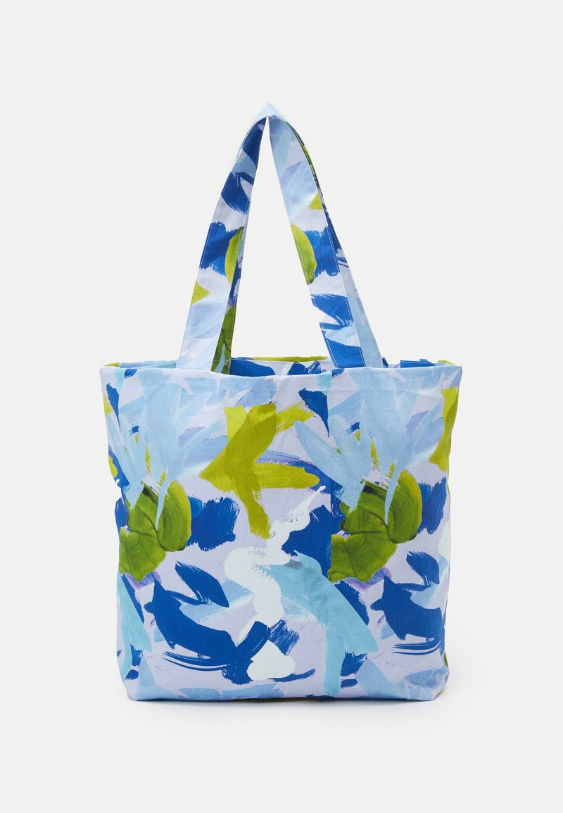 STUDIO ID - TOTE BAG M - Velká kabelka - multicoloured/blue
