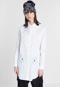 Desigual - CAM_GARONA - Shirt - white - 0