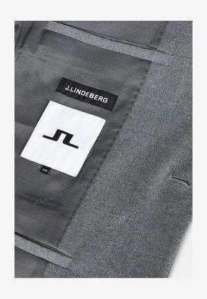 Blazer jacket - grey melange