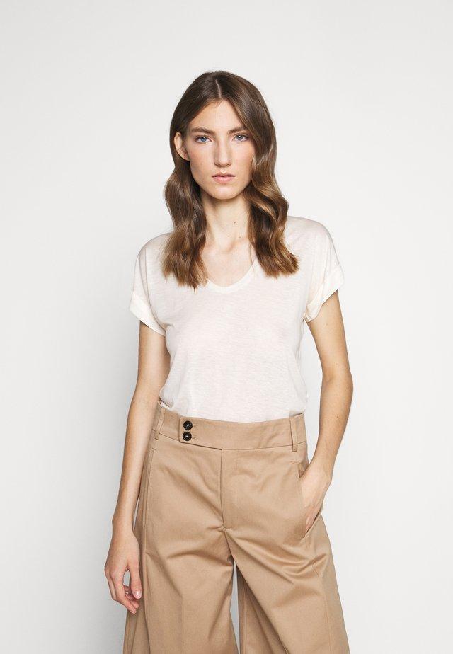 WOMEN´S - Jednoduché triko - white