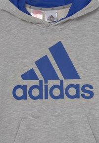 adidas Performance - Hoodie - medium grey heather/bold blue - 2