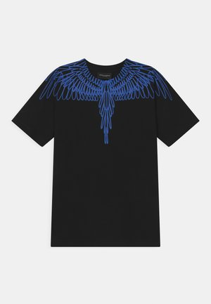 OUT WINGS - Print T-shirt - black