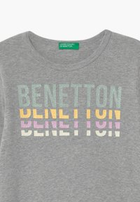 Benetton - BASIC GIRL - Top s dlouhým rukávem - light grey