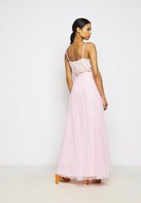 STUDIO ID - LONG SKIRT - Maxi sukně - pale pink - 2