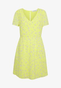VNECK DRESS - Kjole - yellow