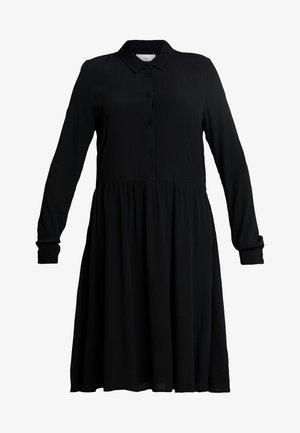 BINDIE DRESS - Shirt dress - black