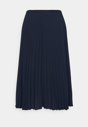 SUZU SKIRT - Pleated skirt - french navy