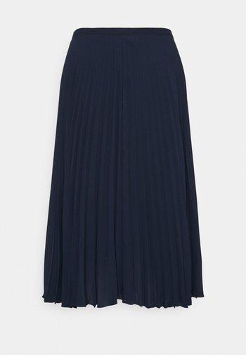 SUZU SKIRT - Pleated skirt - french navy