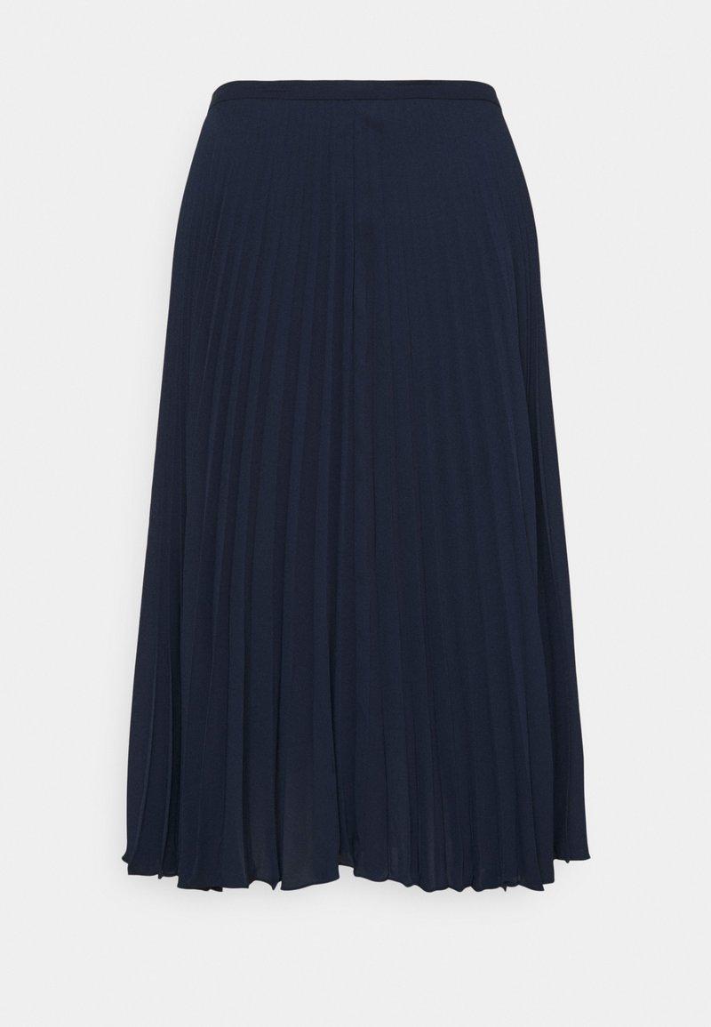 Lauren Ralph Lauren Woman - SUZU SKIRT - Pleated skirt - french navy