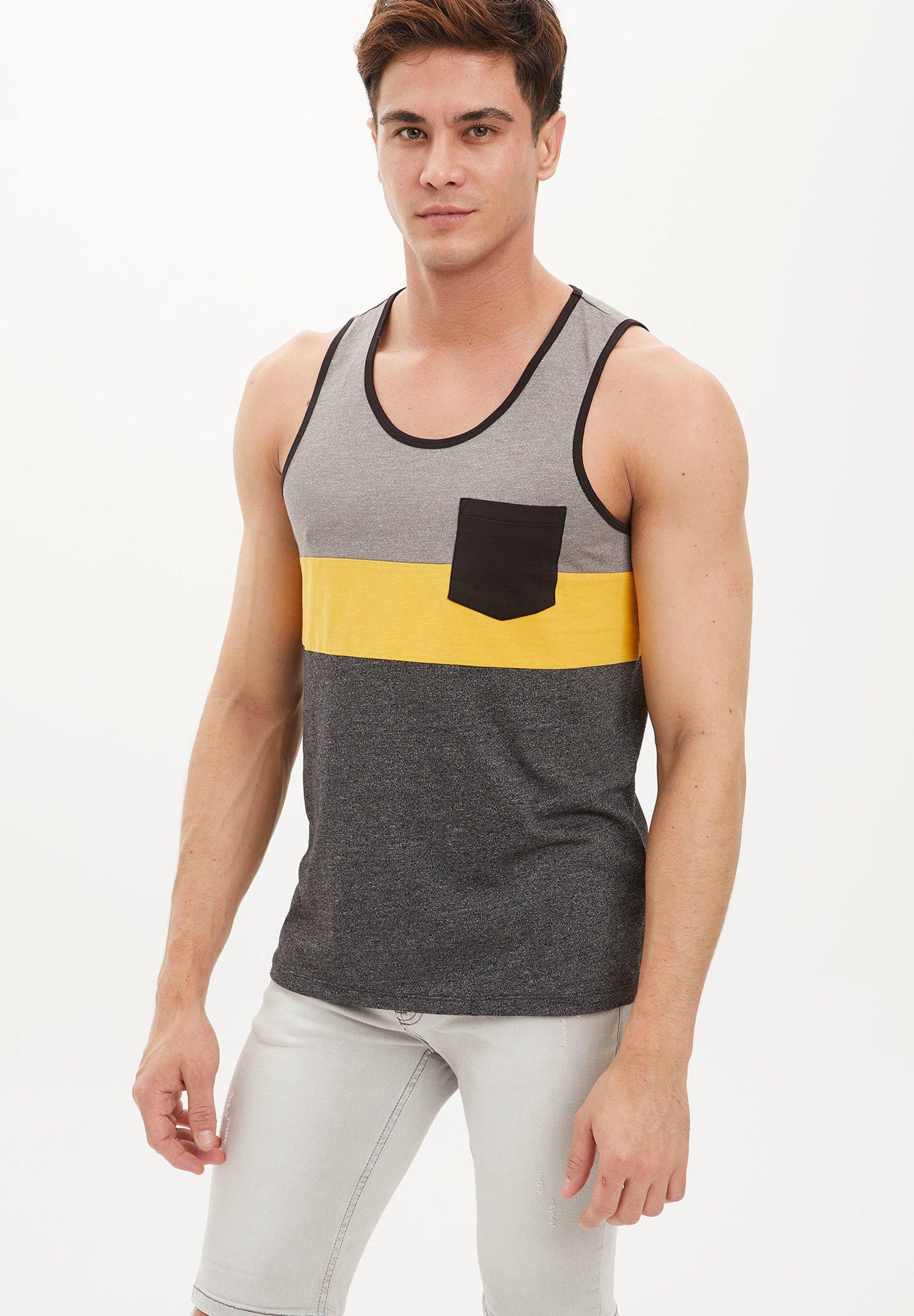Nike Sportswear TEE CUT OUT - Långärmad tröja - black/svart - Herrkläder tZuI3