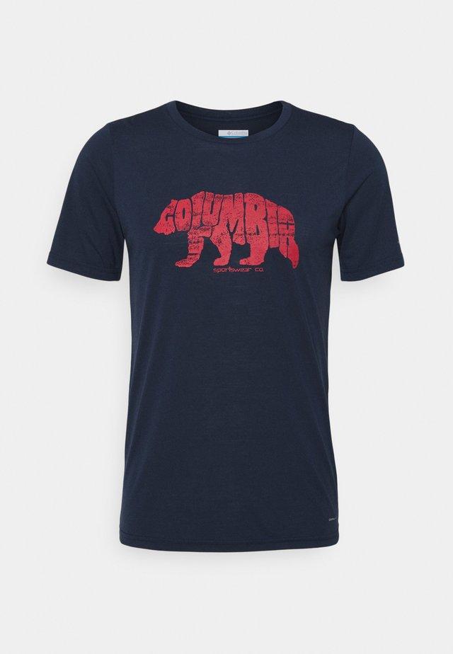 TERRA VALE™ TEE - Camiseta estampada - collegiate navy