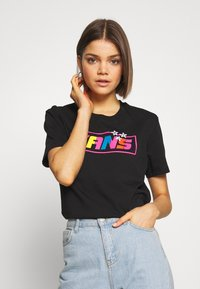 Vans - THREAD TEE - T-shirt med print - black - 0