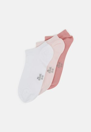 ONLINE WOMEN SILKY TOUCH SNEAKER 5 PACK - Calcetines - chrystal pink