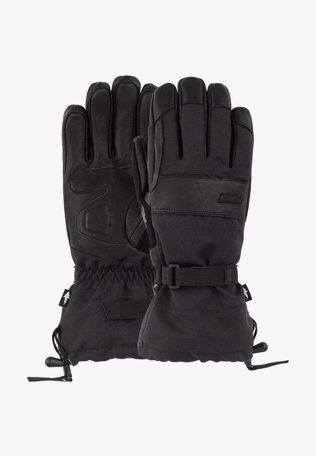 AUGUST LONG - Gloves - black