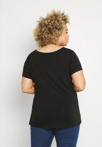 Anna Field Curvy - T-shirt basique - black - 2