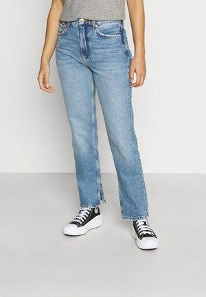 ORIGINAL SLIT - Straight leg jeans - mid blue