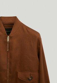 Massimo Dutti - Bomber Jacket - brown - 2