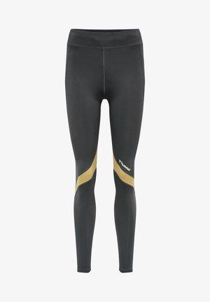 HMLALTHEA HIGH WAIST - Leggings - magnet