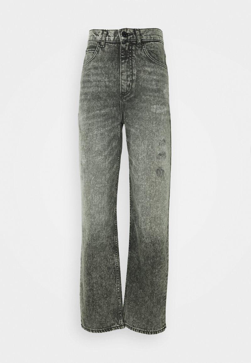 sandro - LONE - Slim fit jeans - anthracite