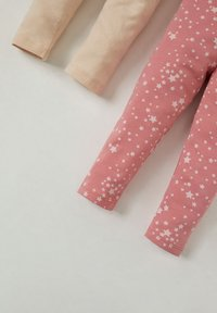 DeFacto - 2PACK - Legging - beige/pink - 2