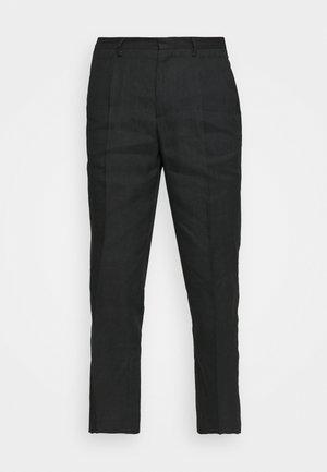 TROUSERS - Kalhoty - black