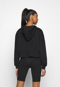Even&Odd - Printed Oversized Sweatshirt - Sudadera - black - 2