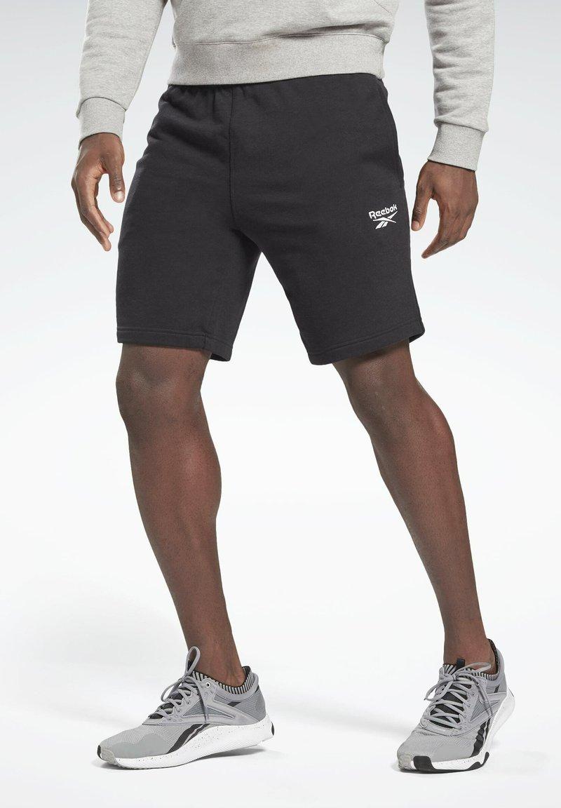 Reebok - SHORT - Sportovní kraťasy - black