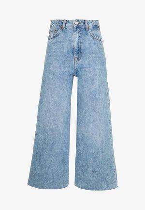 AIKO - Široké džíny - destiny blue