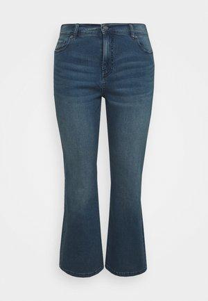 Bootcut jeans - vintage blu