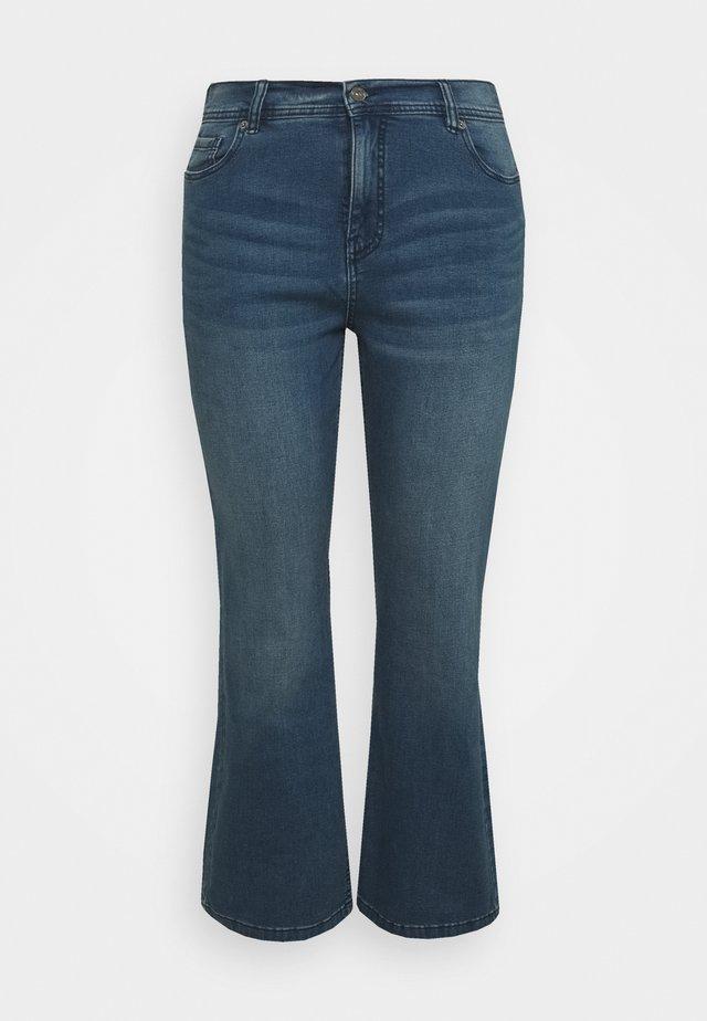 Jeans bootcut - vintage blu