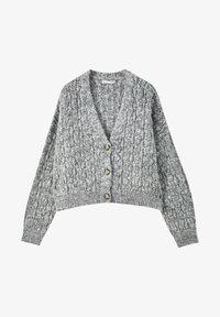 PULL&BEAR - Cardigan - grey - 4