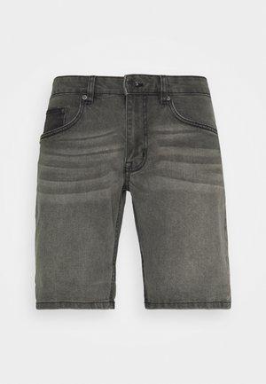 PARIS - Denim shorts - grey