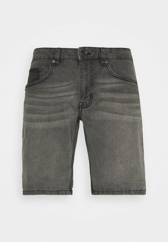 PARIS - Shorts di jeans - grey