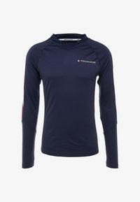 Tommy Hilfiger - LONGSLEEVE WITH TAPE - Camiseta de deporte - navy - 4
