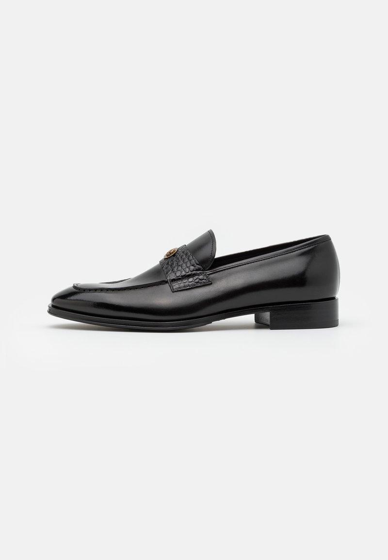 Roberto Cavalli - Elegantní nazouvací boty - black