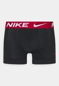 Nike Underwear - TRUNK  3 PACK - Culotte - red /black /uni gold - 3