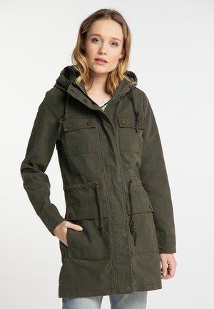 Parka - dark green