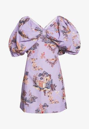 DRESS - Kjole - fantasia fondo lilla