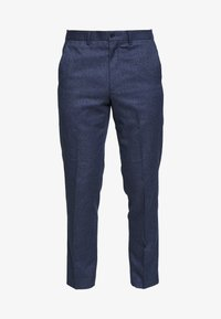 Isaac Dewhirst - PLAIN TROUSER - Broek - blue - 4