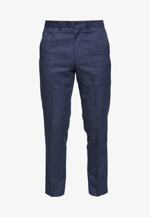 PLAIN TROUSER - Tygbyxor - blue